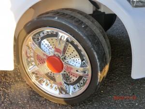 колесо электромобиля
