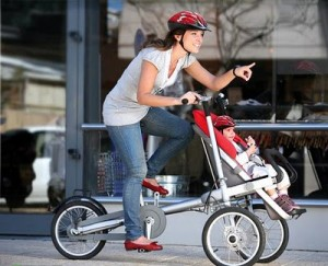 коляска велосипед